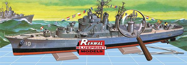 U.S.S. キング (SSP)プラモデル(レベルShips(艦船関係モデル)No.85-0603)商品画像