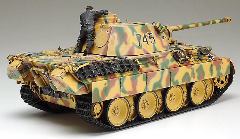 ドイツ戦車 パンサーD型プラモデル(タミヤ1/35 ミリタリーミニチュアシリーズNo.345)商品画像_2