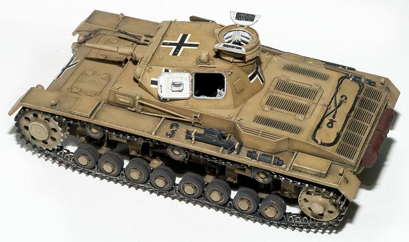 3号戦車 C型プラモデル(ミニアート1/35 WW2 ミリタリーミニチュアNo.35166)商品画像_3