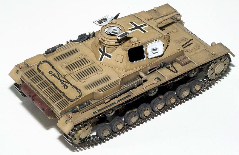3号戦車 C型プラモデル(ミニアート1/35 WW2 ミリタリーミニチュアNo.35166)商品画像_4