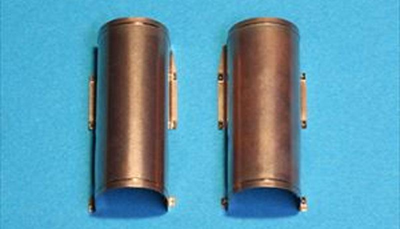 ティーガー 1型 排気管カバー 中期型/後期型メタル(パッションモデルズ1/35 シリーズNo.P35-109)商品画像_1