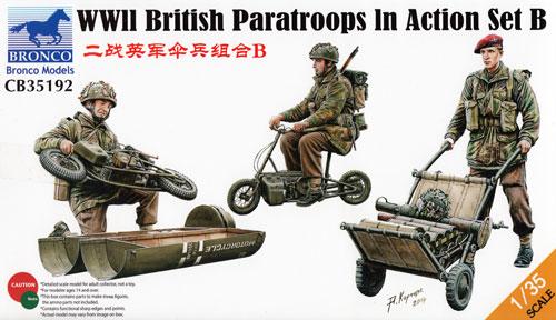 イギリス 空挺部隊 Bセットプラモデル(ブロンコモデル1/35 AFVモデルNo.CB35192)商品画像