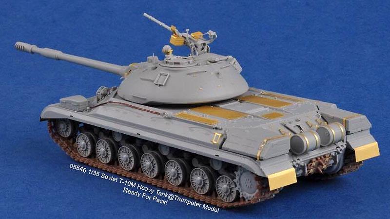 ソビエト T-10M 重戦車プラモデル(トランペッター1/35 AFVシリーズNo.05546)商品画像_2