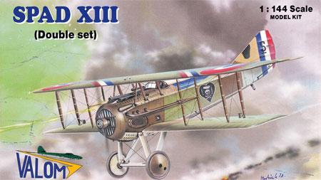 フランス スパッド13 複葉戦闘機プラモデル(バロムモデル1/144 エアクラフトNo.14412)商品画像
