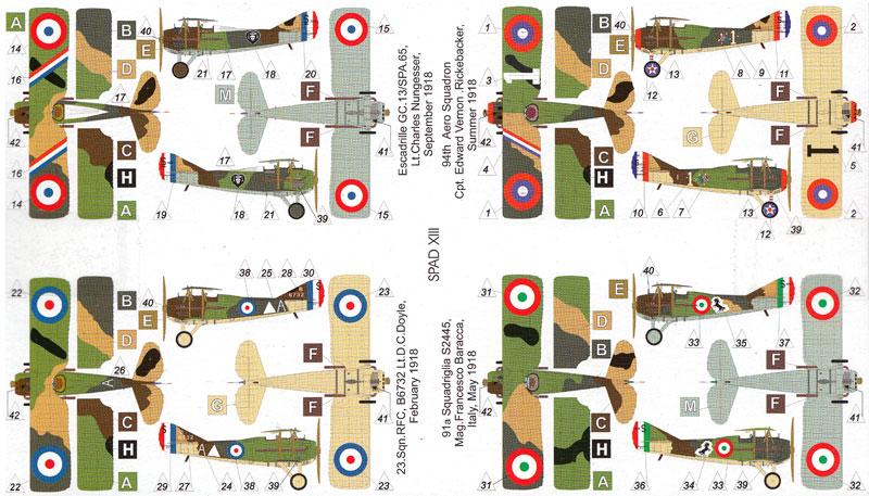 フランス スパッド13 複葉戦闘機プラモデル(バロムモデル1/144 エアクラフトNo.14412)商品画像_1