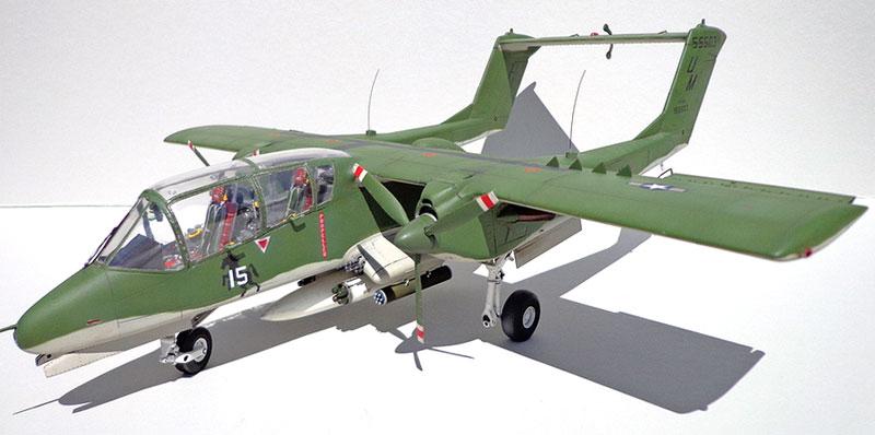 OV-10A/C ブロンコプラモデル(キティホーク1/32 エアモデルNo.KH32004)商品画像_2