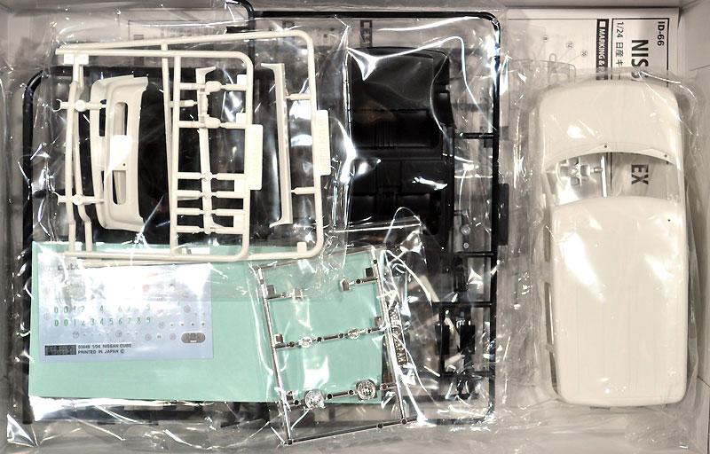 ニッサン キューブ EX/アジャクティブプラモデル(フジミ1/24 インチアップシリーズNo.066)商品画像_1