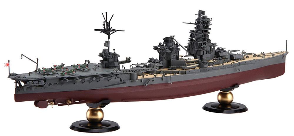 日本海軍 航空戦艦 伊勢 (フルハルモデル)プラモデル(フジミ1/700 帝国海軍シリーズNo.029)商品画像_2