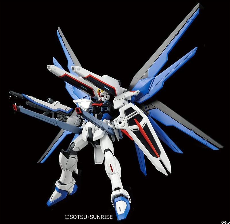 ZGMF-X10A フリーダムガンダムプラモデル(バンダイHGCE ハイグレード コズミック・イラNo.192)商品画像_3
