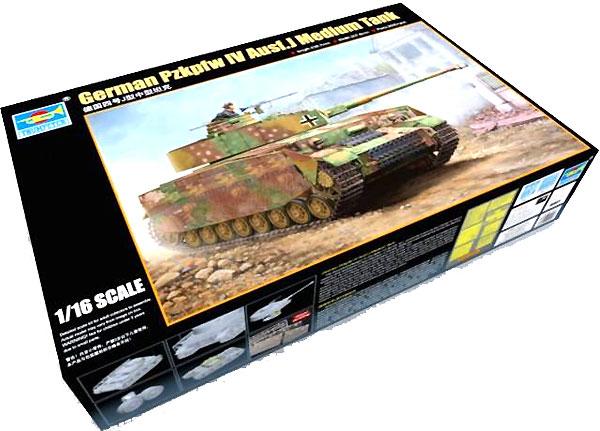 ドイツ 4号戦車 J型プラモデル(トランペッター1/16 AFVシリーズNo.00921)商品画像