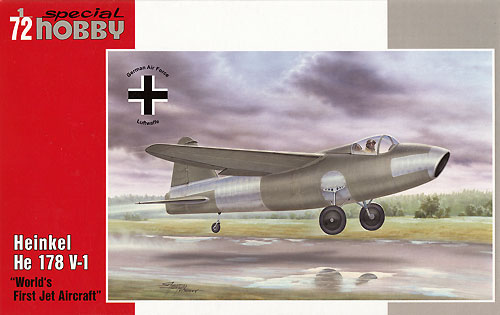ハインケル He178V1 世界初ジェット機プラモデル(スペシャルホビー1/72 エアクラフト プラモデルNo.SH72321)商品画像