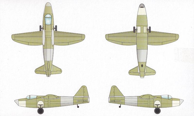 ハインケル He178V1 世界初ジェット機プラモデル(スペシャルホビー1/72 エアクラフト プラモデルNo.SH72321)商品画像_1