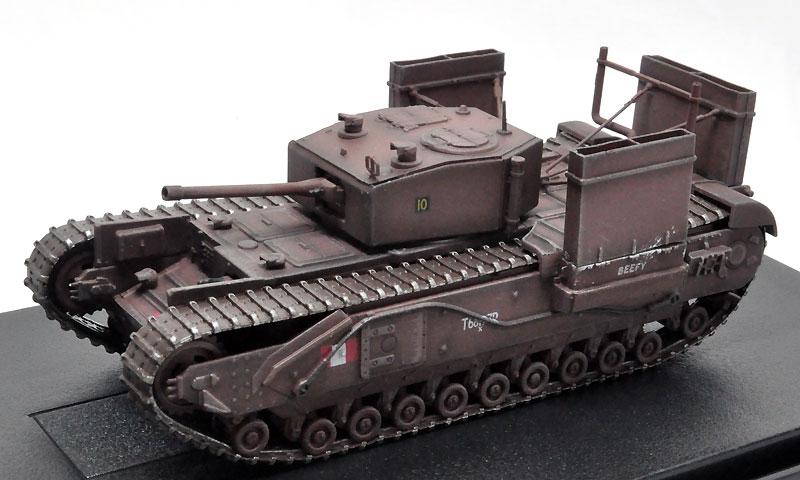 イギリス チャーチル Mk.3 w/渡渉デバイス カナダ陸軍 第14戦車連隊 1942 ディエップ完成品(ドラゴン1/72 ドラゴンアーマーシリーズNo.60670)商品画像_1