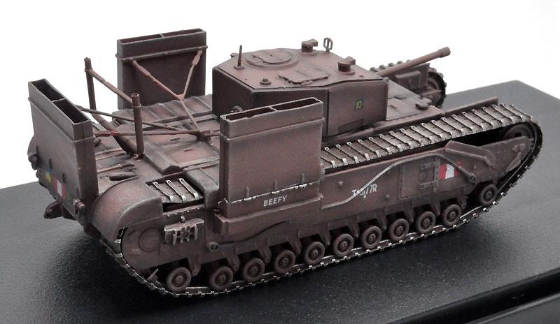 イギリス チャーチル Mk.3 w/渡渉デバイス カナダ陸軍 第14戦車連隊 1942 ディエップ完成品(ドラゴン1/72 ドラゴンアーマーシリーズNo.60670)商品画像_2