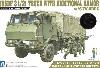 陸上自衛隊 3 1/2t トラック 装甲強化型 (隊員6体セット)