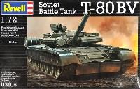 レベル1/72 ミリタリーT-80BV 戦車