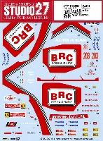 スタジオ27ラリーカー オリジナルデカールフォード フィエスタ BRC #203 ラリー サンレモ 2014