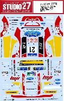 スタジオ27ラリーカー オリジナルデカールフォード フィエスタ Jipocar #21 ラリー メキシコ 2014
