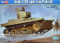 ホビーボス1/35 ファイティングビークル シリーズソビエト T-37A 水陸両用軽戦車