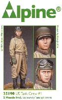 WW2 米軍戦車兵 #1 (冬季ジャケット、M1カービン)