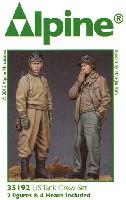 アルパイン1/35 フィギュア米戦車兵 (冬季軍装) (2体セット)