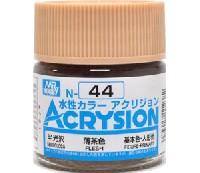 GSIクレオス水性カラー アクリジョン薄茶色 (N-44)