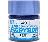 GSIクレオス水性カラー アクリジョンすみれ色 (N-49)