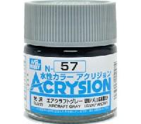 GSIクレオス水性カラー アクリジョンエアクラフトグレー (N-57)