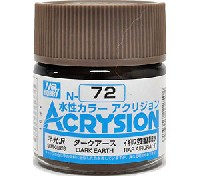 GSIクレオス水性カラー アクリジョンダークアース (N-72)