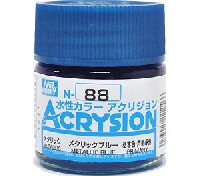 GSIクレオス水性カラー アクリジョンメタリックブルー (N-88)
