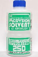 GSIクレオス水性カラー アクリジョン うすめ液水性カラー アクリジョン エアブラシ用 うすめ液 250