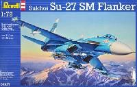 レベル1/72 飛行機スホーイ Su-27SM フランカー