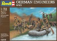 レベル1/72 ミリタリーWW2 ドイツ工兵