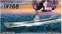 アオシマ1/350 アイアンクラッド日本海軍潜水艦 海大6a型 伊168