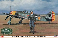 ハセガワ1/32 飛行機 限定生産フォッケウルフ Fw190A-5/U7 グラーフスペシャル w/ フィギュア