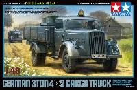 タミヤ1/48 ミリタリーミニチュアシリーズドイツ 3t 4×2 カーゴトラック