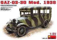 ミニアート1/35 WW2 ミリタリーミニチュアGAZ-03-30 Mod.1938