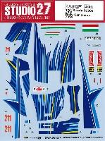 スタジオ27ラリーカー オリジナルデカールシュコダ S2000 #211 ラリー サンレモ 2014
