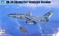 トランペッター1/48 エアクラフト プラモデルEA-3B スカイウォーリア 戦略爆撃機