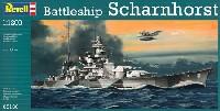 レベル1/1200 艦船キットドイツ戦艦 シャルンホルスト