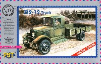 ロシア ZIS-12 低床カーゴトラック