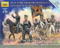ズベズダART OF TACTICロシア ライン歩兵 コマンドグループ 1812-1814