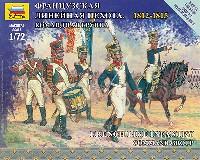 ズベズダART OF TACTICフランス ライン歩兵 コマンドグループ 1812-1815