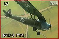 ポーランド 複座練習機 RWD-8 PWS