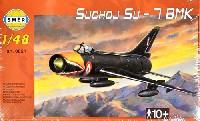 スメール1/48 エアクラフト プラモデルスホーイ Su-7BMK フィッター 戦闘爆撃機