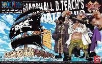 バンダイワンピース 偉大なる船(グランドシップ)コレクションマーシャル・D・ティーチの海賊船