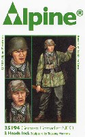 アルパイン1/35 フィギュアWW2 ドイツ 擲弾兵 下士官 (スプリンター迷彩スモック)