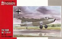 スペシャルホビー1/72 エアクラフト プラモデルハインケル He178V1 世界初ジェット機