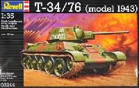 レベル1/35 ミリタリーソビエト T-34/76 (model 1943)