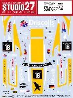 スタジオ27ツーリングカー/GTカー オリジナルデカールメルセデス SLS ブラックファルコン #18 モンツァ 2015